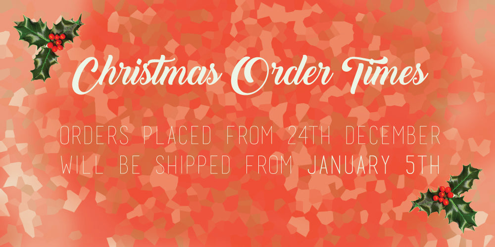 Christmas and New Year Order Processing