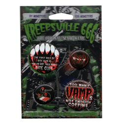 VAMPIRE BADGE SET