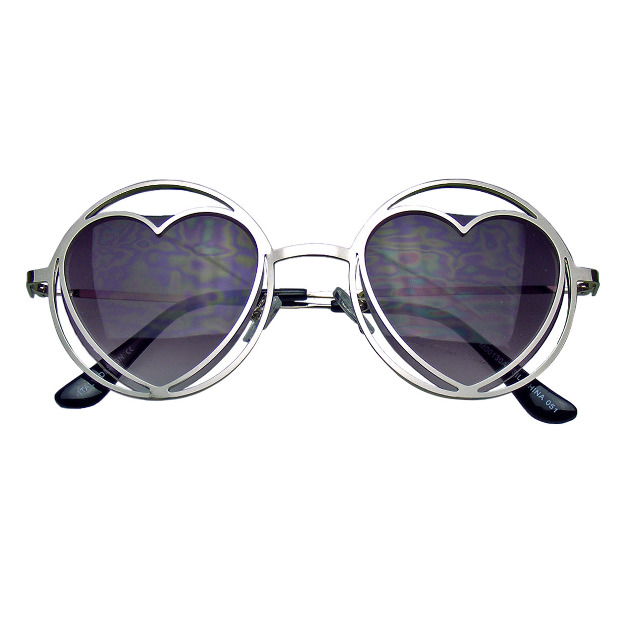 0113a04de92 Metal Heart Sunglasses Ebay
