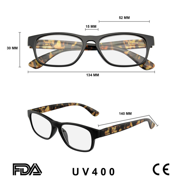 Reading Glasses | Reading Glasses Womens Mens Classic Retro Reader Cute Spring Hinge Readers Eyewear