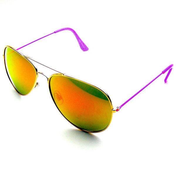 Reflective Classic Premium Flash Full Mirrored Aviator Sunglasses