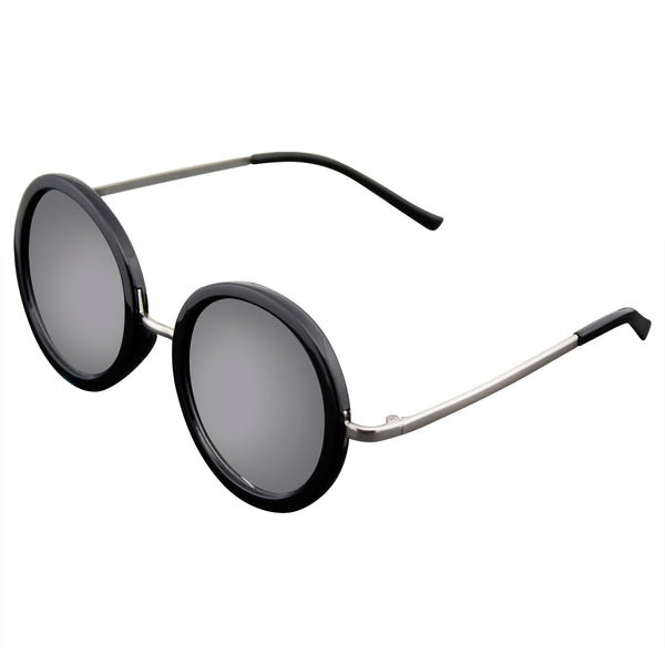 Retro Round Sunglasses| Emblem Eyewear - New Round Circle Fashion Designer Celebrity Womans Sunglasses