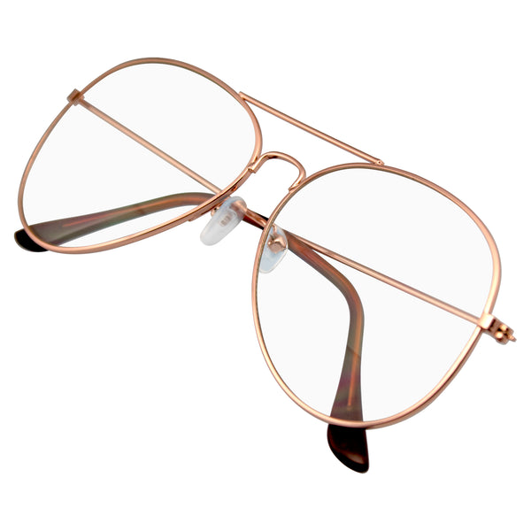 Emblem Eyewear - Retro Sunglasses Indie Dapper Classic Clear Lens Glasses