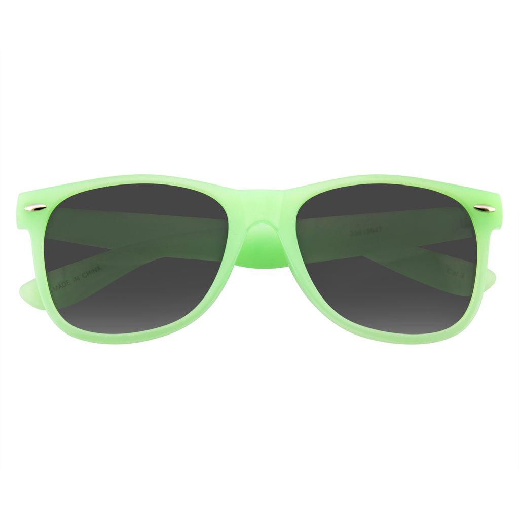 Translucent Color Rim Sunglasses | Emblem Eyewear - Sunglasses Retro Fashion Translucent Color Horned Rim Sunglasses