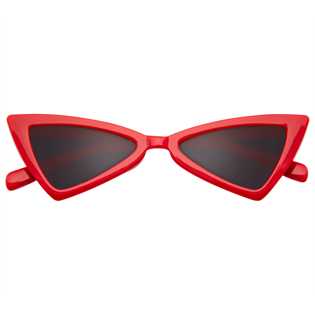 508936254daf Emblem Eyewear - Women Vintage Triangle Sunglasses Fashion Retro Cat Eye  Sunglasses