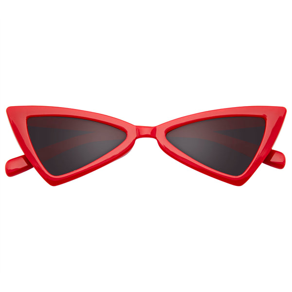 Emblem Eyewear - Women Vintage Triangle Sunglasses Fashion Retro Cat Eye Sunglasses