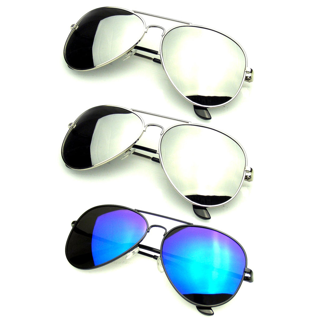 Bundle Of Sunglasses In Bundles 3 Pairs Silver Mens Womens Sunglasses