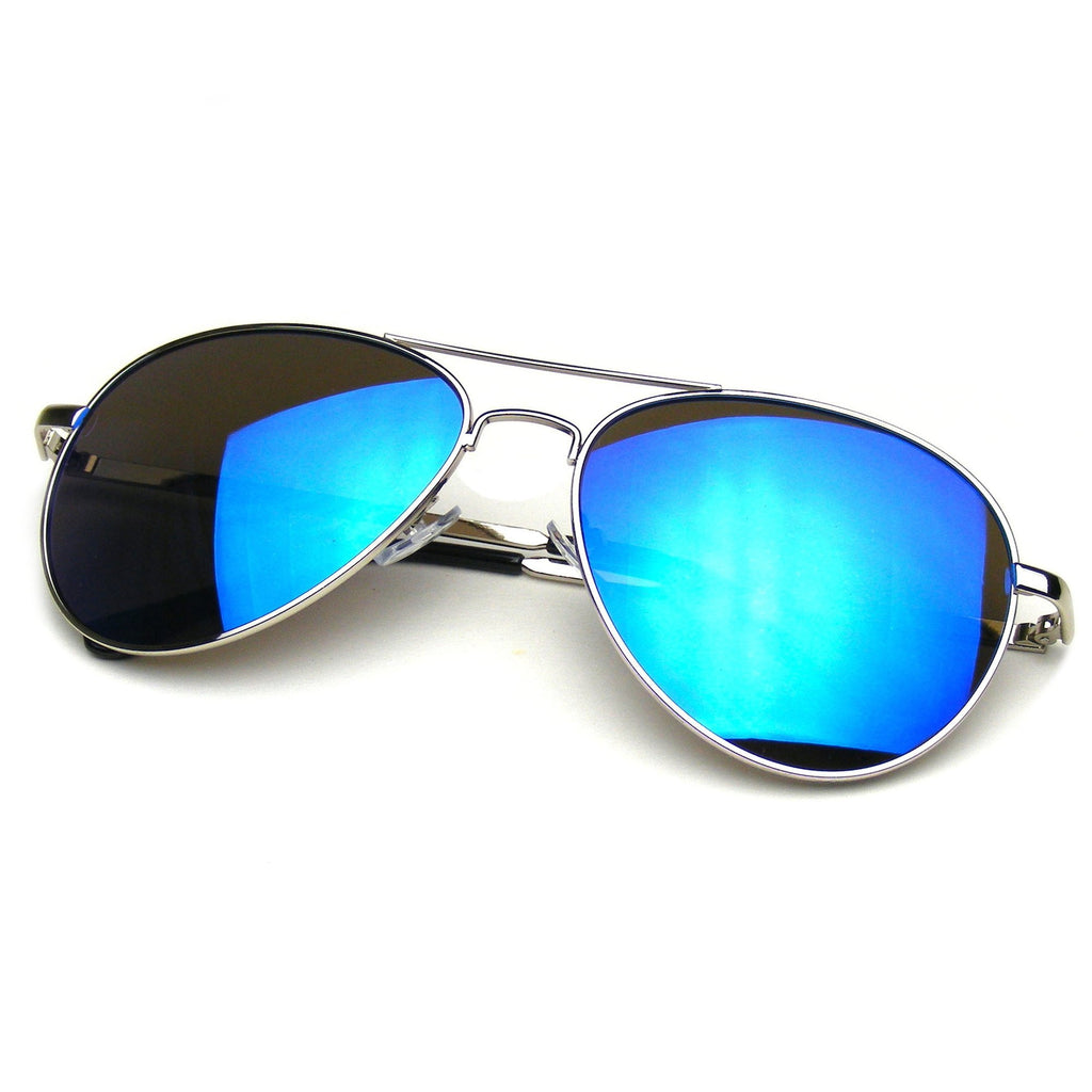 Retro Premium Military Classic Mirrored Lens Metal Aviator Sunglasses Description Measurements Shipping A true classic that has held its reign for over four decades, we are pleased to present our most popular mirrored aviator/5(10).