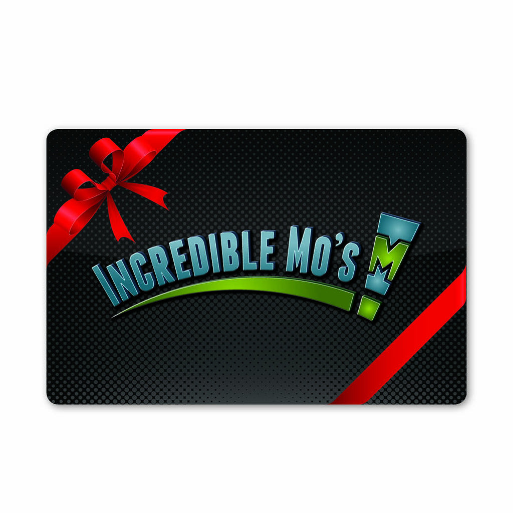 $25 Incredible Mo's Card with a 25% Arcade Bonus of $6.25