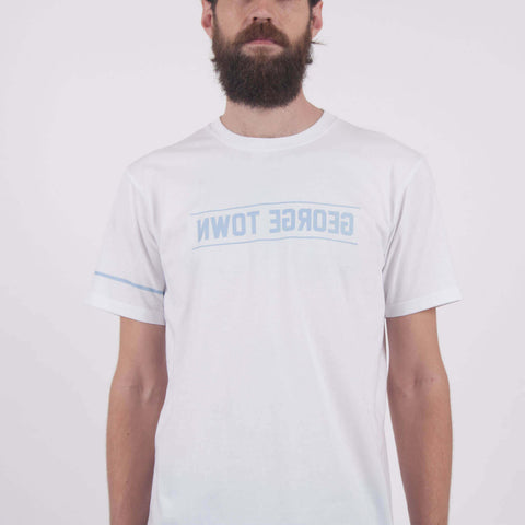 George Town Reverse Tee White