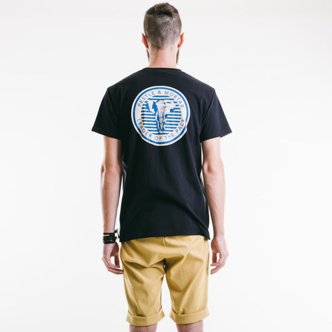 Leading The Pack Tee Black