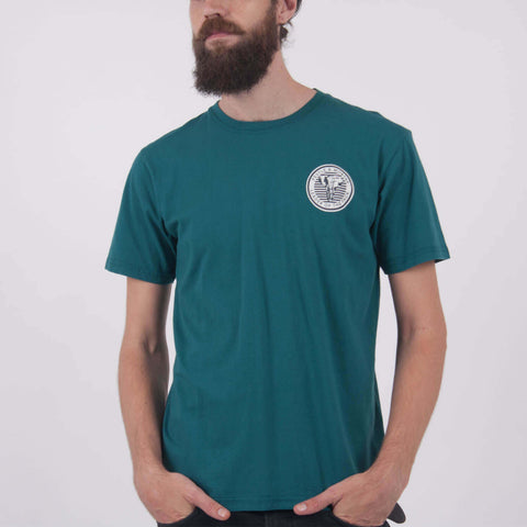 Leading The Pack Tee Emerald Green