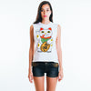 Lucky Cat Ladies White