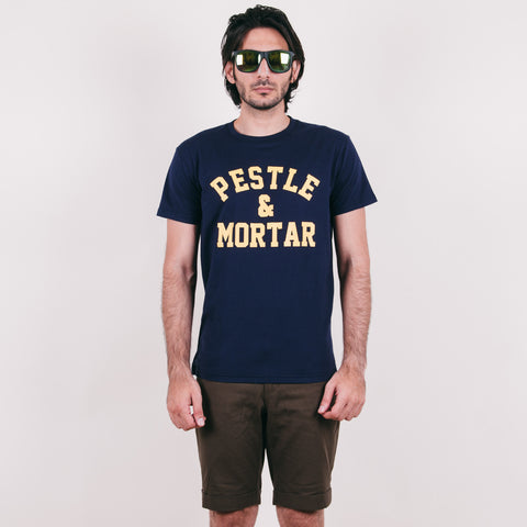 Athletic Tee Navy Blue
