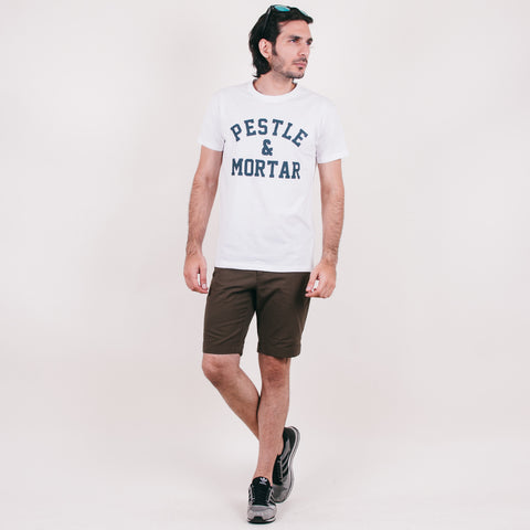 Athletic Tee White