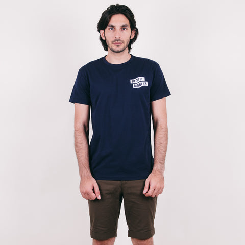 Mechanic Tee Navy Blue