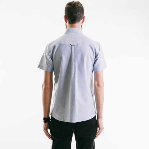 Oxford Short Sleeve Shirt Light Blue