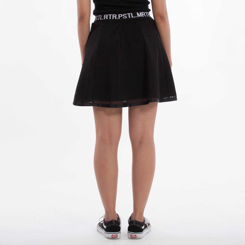 Arcane Skirt Black