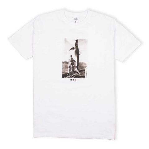 Catch Of The Day Tee White flatlay - front