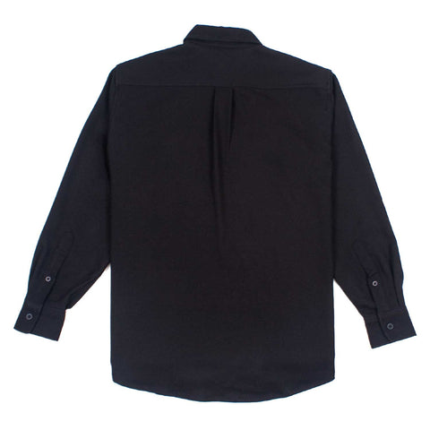Century Long Sleeve Shirt Black flatlay - back