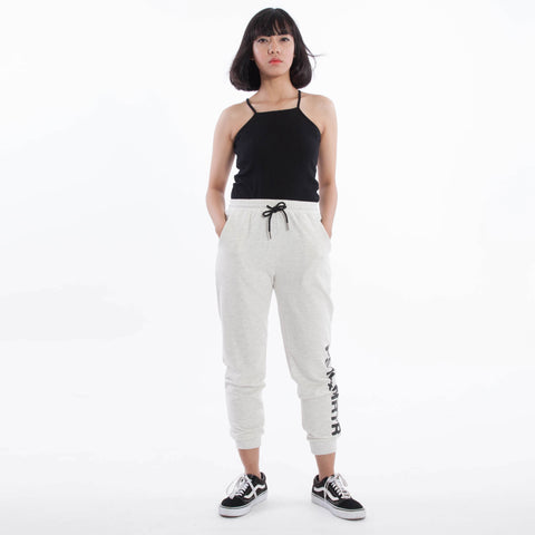 Charge Ladies Sweatpants Heather White