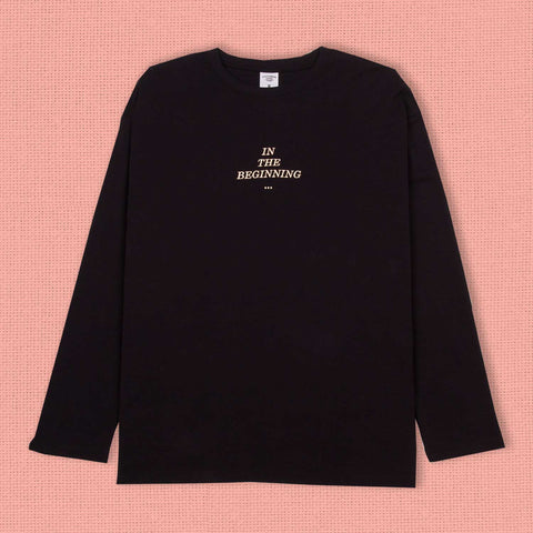 Genesis Long Sleeve Tee Onyx