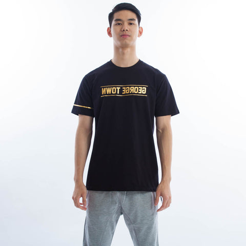 George Town Reverse Tee Liquid Gold