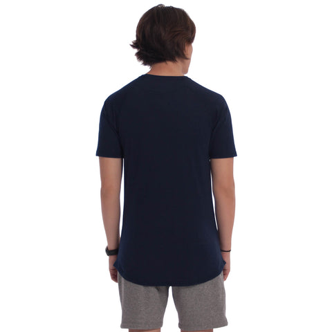 Homies Athletic Tee Navy Blue
