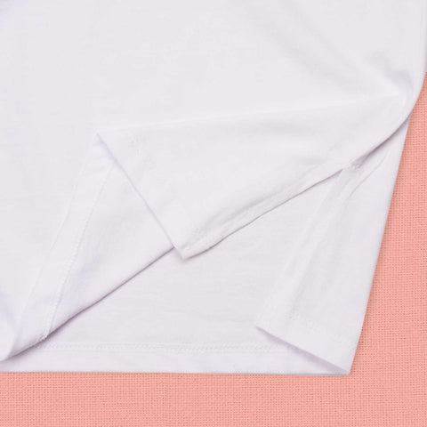 Horizon Ladies Split Hem Tee Alabaster