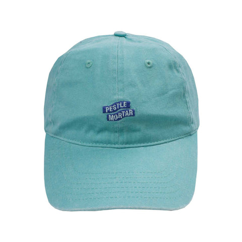 Logo 6 Panel Mint flatlay - front