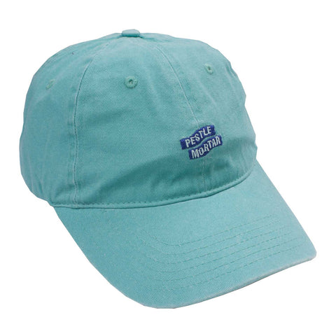 Logo 6 Panel Mint flatlay - front diagonal