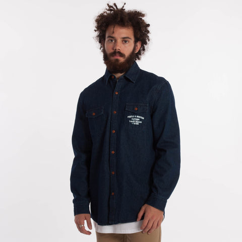 Mechanic Long Sleeve Shirt Denim