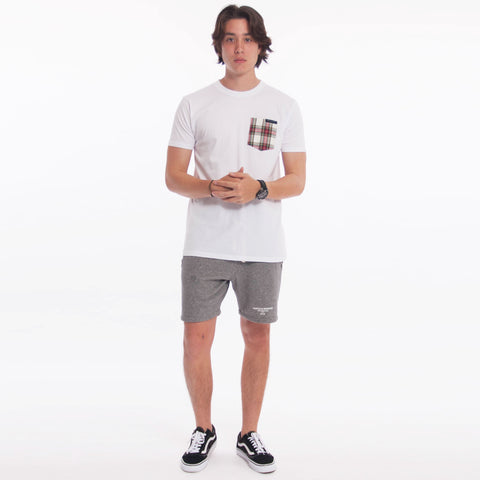 Noel Pocket Tee White