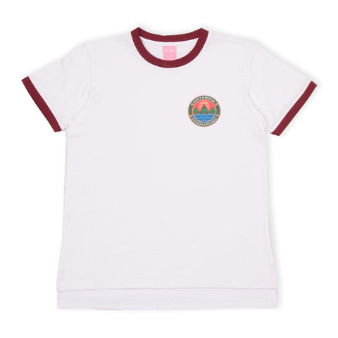 Outdoor Explorers Baby Tee White