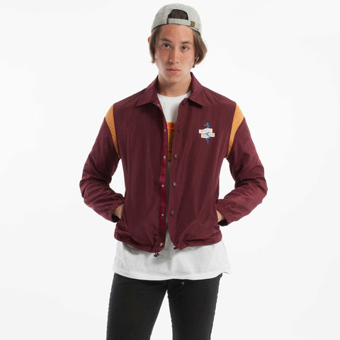 Prescription Coach Jacket Burgundy