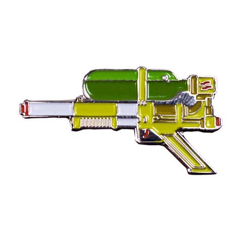 Supersoaker Pin Green