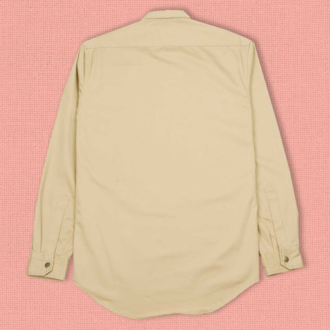 Temptation In The Garden Long Sleeve Shirt Camel