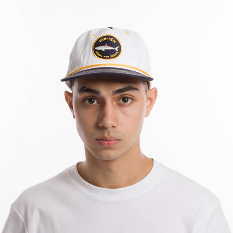 Fin-ish Snapback White catalogue - front