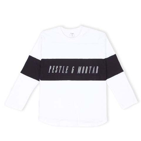 Legacy Long Sleeve Tee White/Black