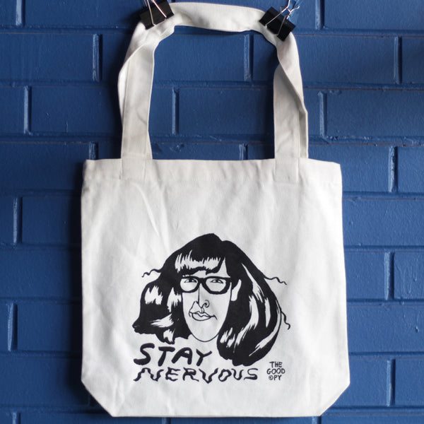 Stay Nervous tote