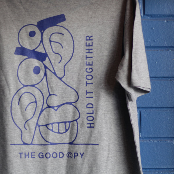 Hold It Together t-shirt—grey