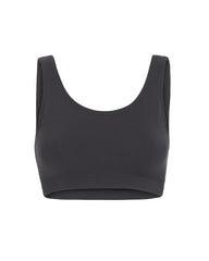 BELLA BUSTIERE- Scoop Back- Black