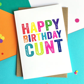 Happy Birthday Mature Greetings Card