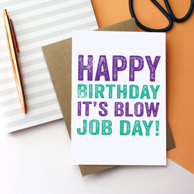 Happy birthday funny joke card