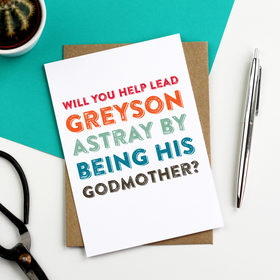 funny godmother card
