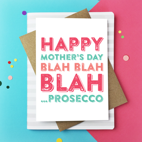 HMD blah prosecco card
