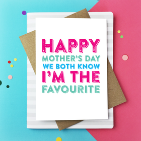 Happy mothers day celebrate card