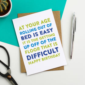 Funny birthday cards do you punctuate do you punctuate funny old age birthday card bookmarktalkfo Gallery