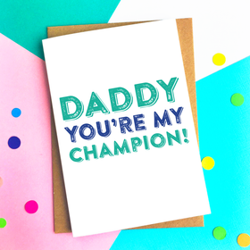 daddy champion card