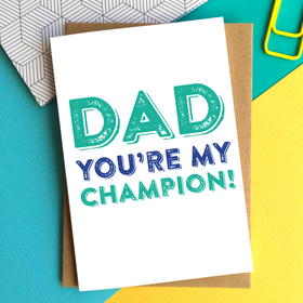 champion dad card